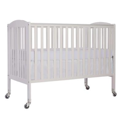 White Folding Full Size Crib