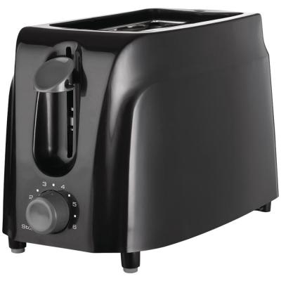 2-Slice Black Cool-Touch Toaster