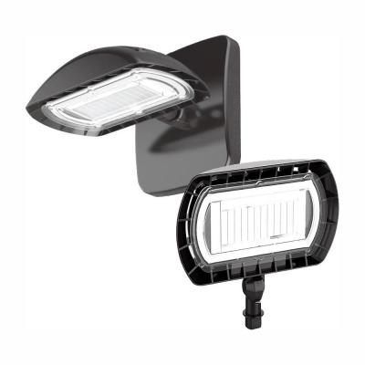 High-Output 200-Watt Equivalent LED Flood Light with Wall Mount Kit, 3000 Lumens, Outdoor Security Lighting