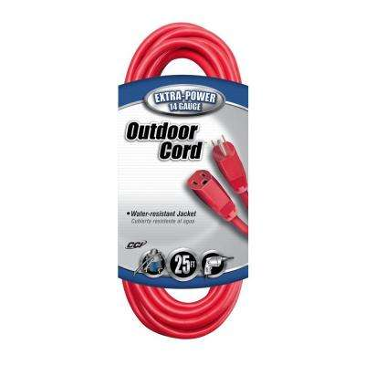 25 ft. 14/3 SJTW Outdoor Vinyl Extension Cord