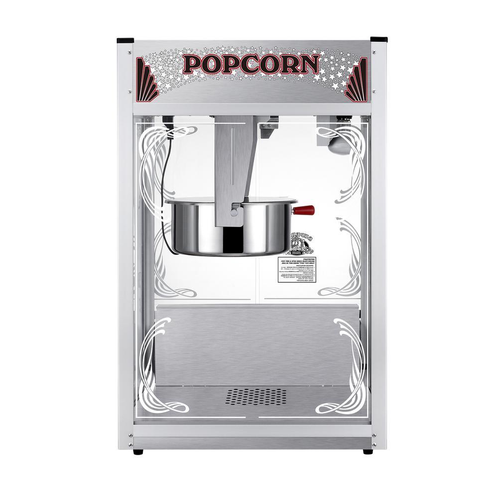 20 oz. Stainless Steel Countertop Popcorn Machine