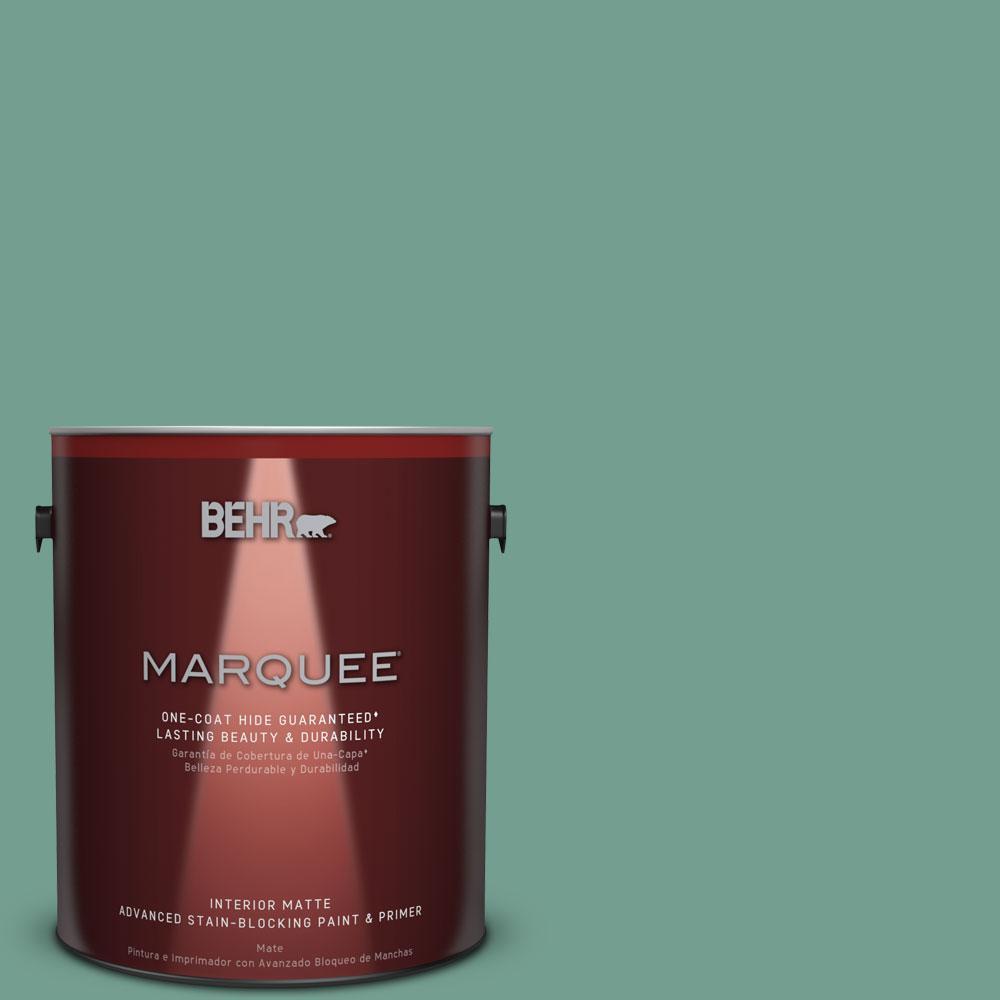 1 gal. #M430-5 Regal View One-Coat Hide Matte Interior Paint