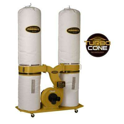 PM1900TX-BK1 3HP 1PH Dust Collector with 30M Bag Filter