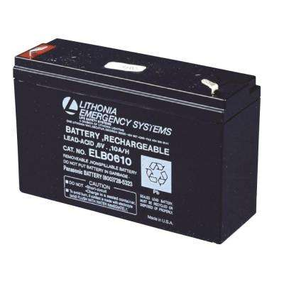 ELB 0610 6-Volt Emergency Replacement Battery