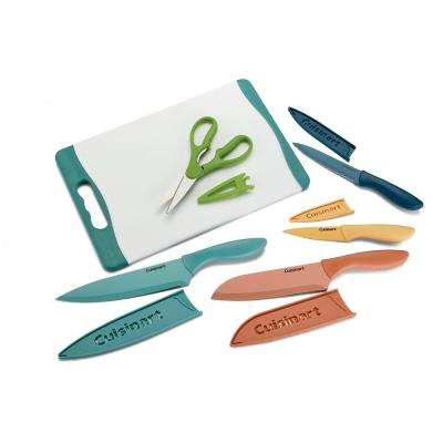 Advantage 11-Piece Cutting Board and Knife Set