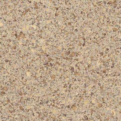 3 in. x 5 in. Laminate Countertop Sample in Sandy Topaz with Premium Textured Gloss Finish