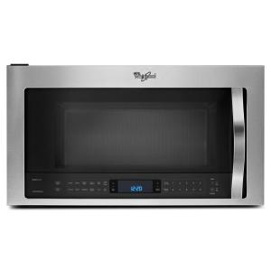 Whirlpool 2.1 cu. ft. Over the Range Microwave in Stainless Steel with Sensor Cooking by Whirlpool