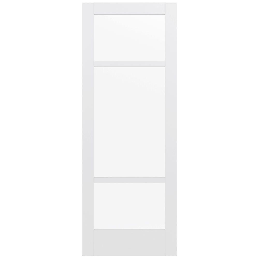 Jeld-Wen 36 in. x 96 in. Moda Primed PMC1031 Solid Core W...