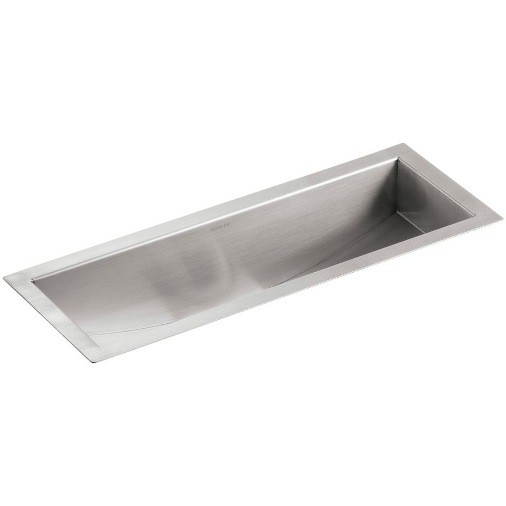 Kohler Undertone Undermount Stainless Steel 22 In Single