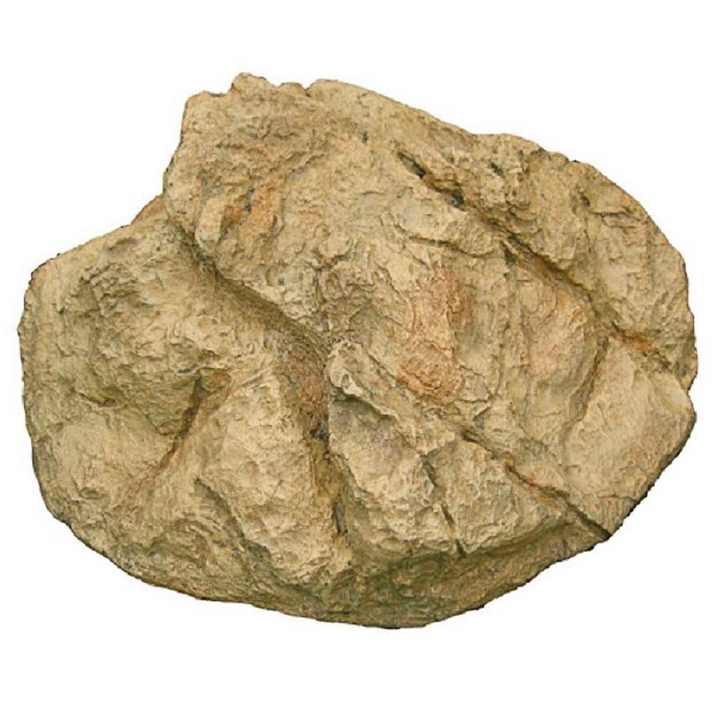 13 in. H x 28 in. W x 30 in. L Large Boulder Rock