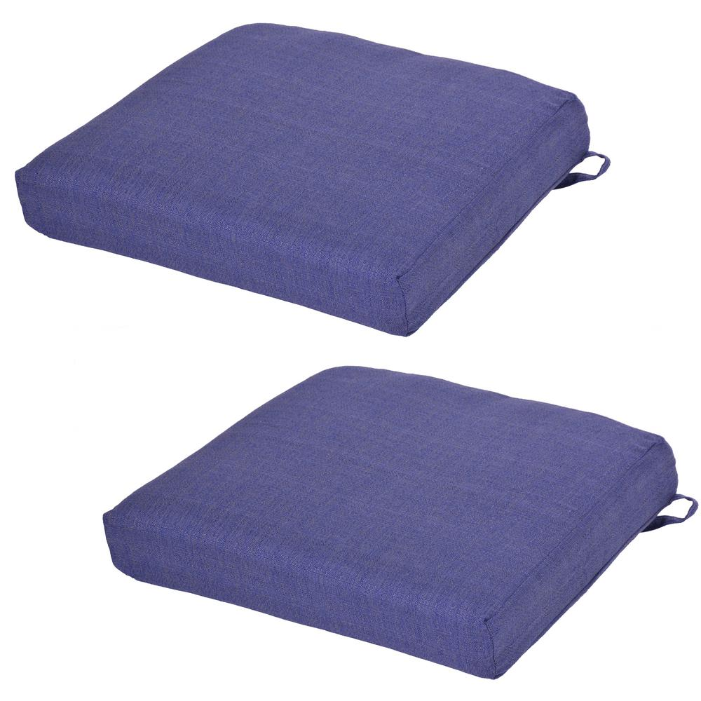 Sky Outdoor Seat Cushion 2 Pack