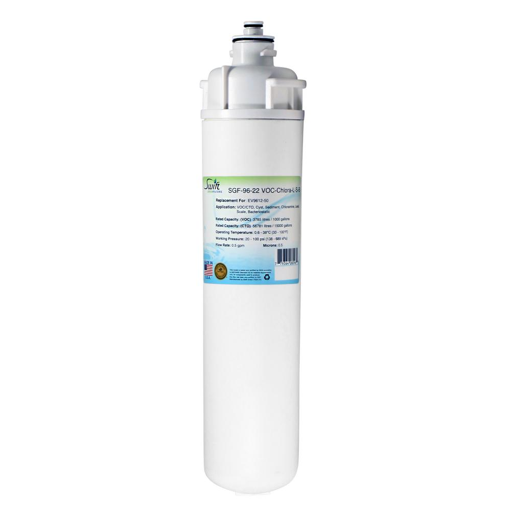 Everpure EV9612-50 and EP35R Replacement Commercial Water Filters