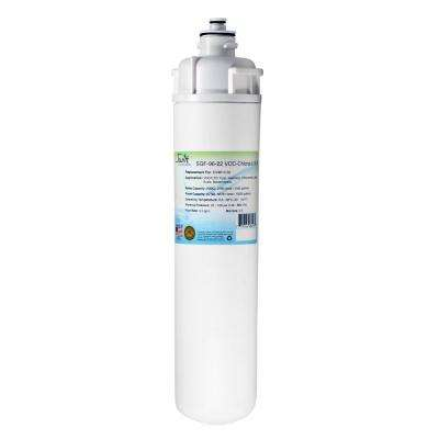 SGF-96-22 VOC-Chlora-L-S-B Replacement Water Filter for Everpure EV9612-50 and EP35R s