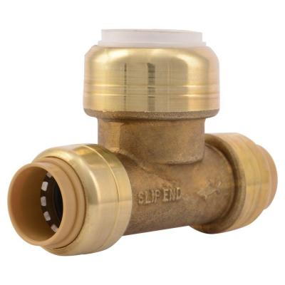 1/2 in. CTS x 1/2 in. CTS x 1/2 in. IPS Brass Push-to-Connect PVC Slip Tee