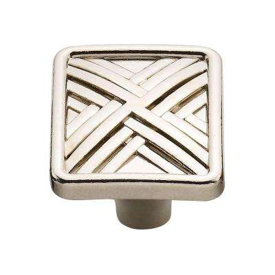 1.5 in. Nickel Hard Cross Knob