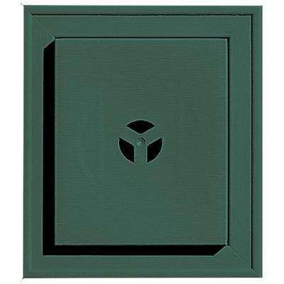 7 in. x 8 in. # 028 Forest Green Square Universal Mounting Block