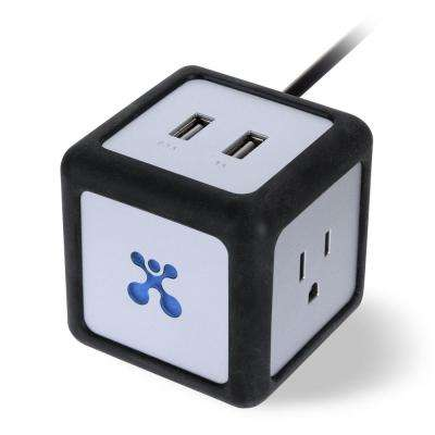 Power Cube Dual USB Charger/Outlet