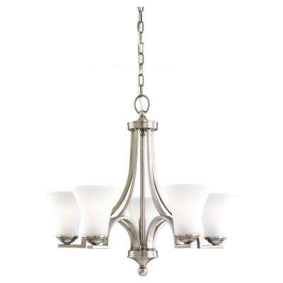 Somerton 5-Light Antique Brushed Nickel Single-Tier Chandelier