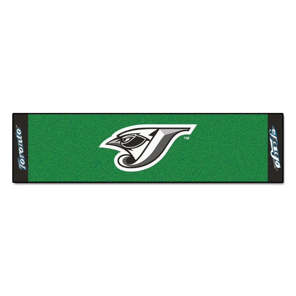 Fanmats Mlb Toronto Blue Jays 1 Ft 6 In X 6 Ft Indoor 1