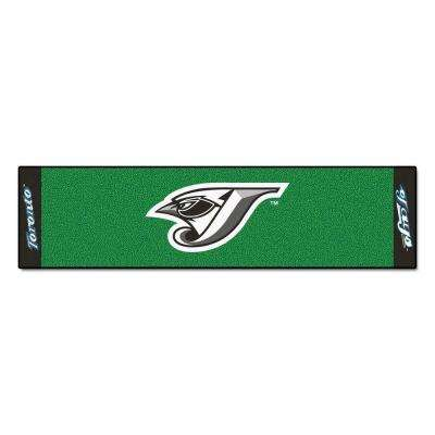 MLB Toronto Blue Jays 1 ft. 6 in. x 6 ft. Indoor 1-Hole Golf Practice Putting Green