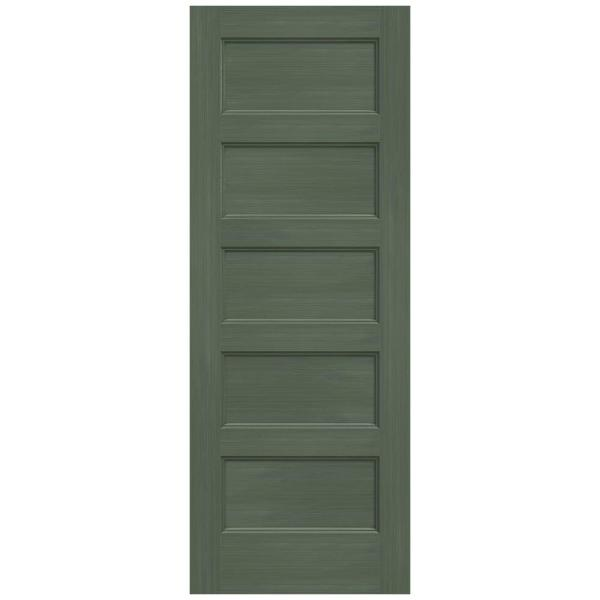 Jeld Wen 30 In X 80 In Conmore Juniper Stain Smooth Solid Core Molded Composite Interior Door Slab Thdjw236700322 The Home Depot