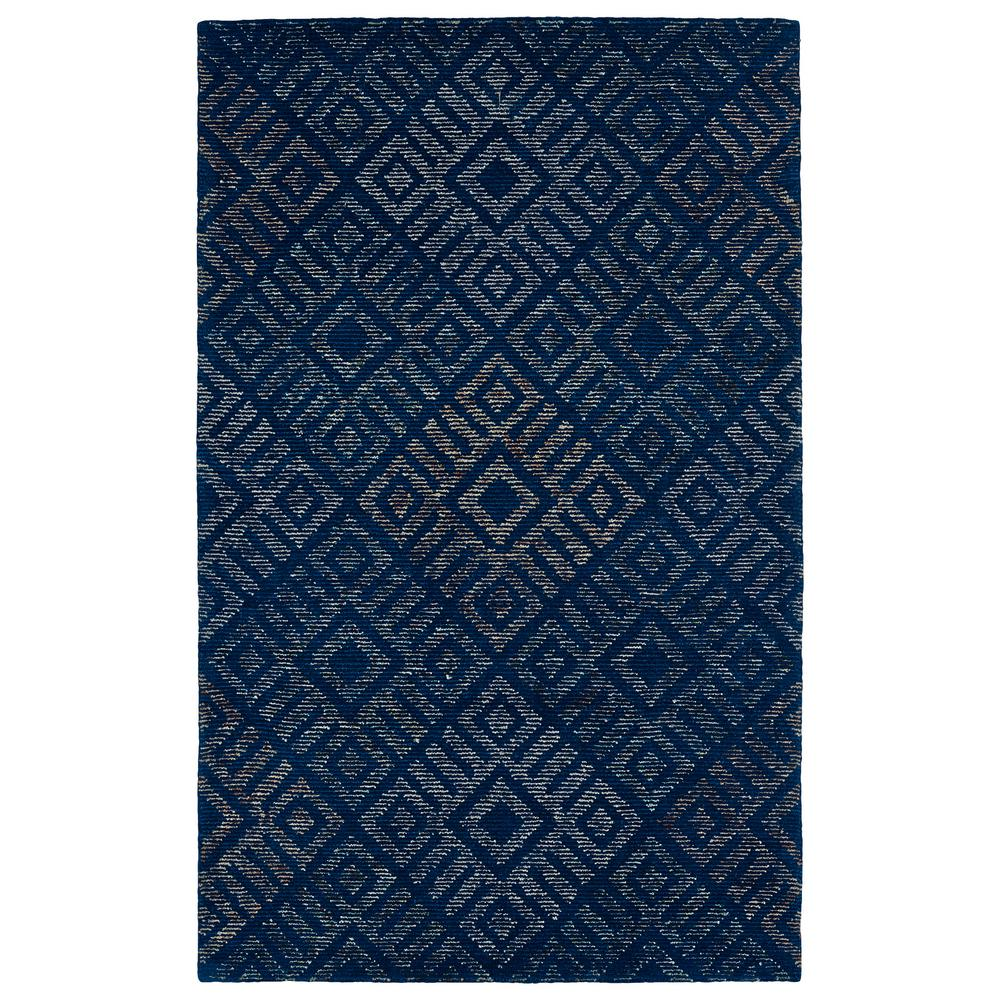 Evanesce Blue 8 ft. x 10 ft. Area Rug