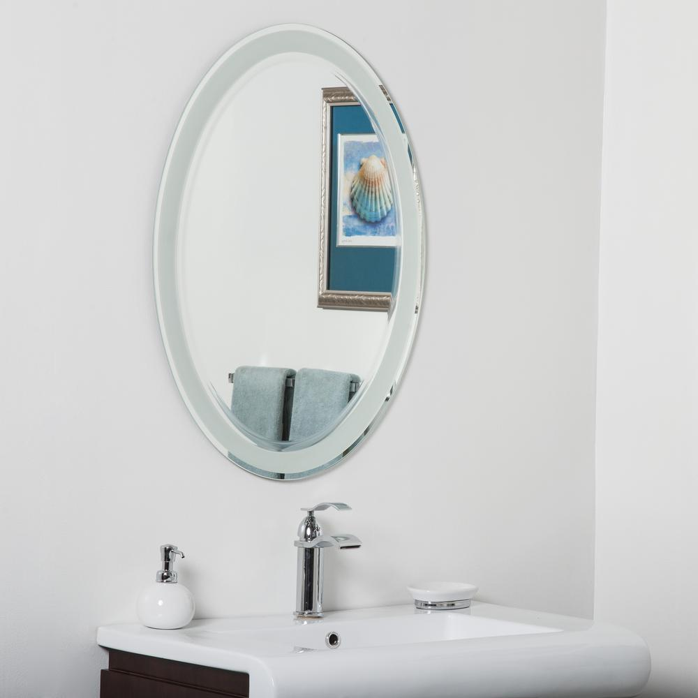 Oval Alden Modern Bathroom