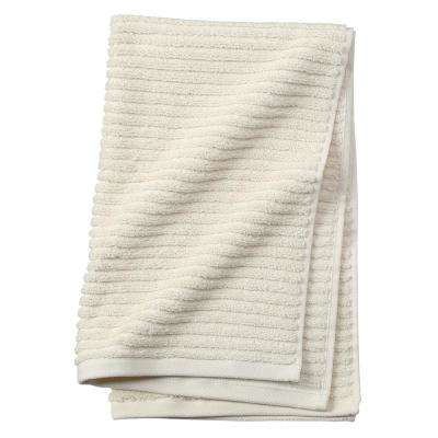 Monterey 1-Piece Ribbed Turkish Hand Towel in Natural