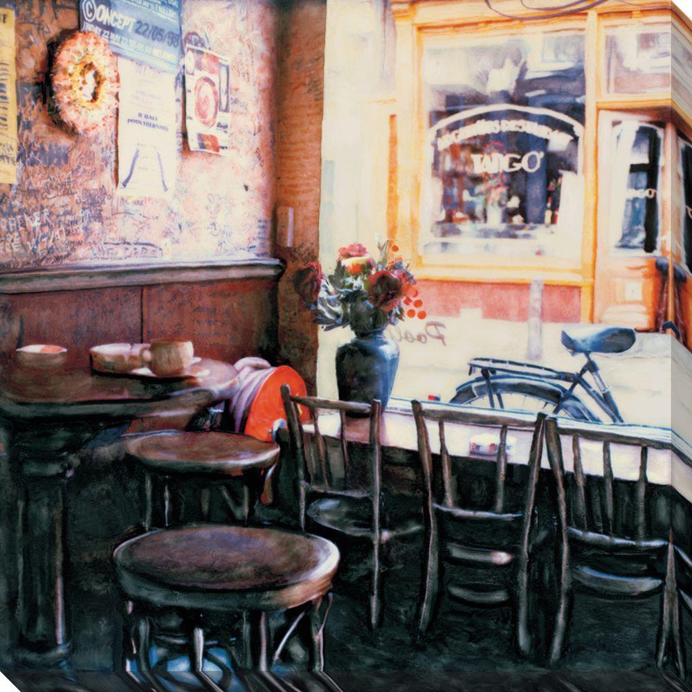 NEP Art 40 in. x 40 in. Tango Oversized Canvas Gallery Wrap