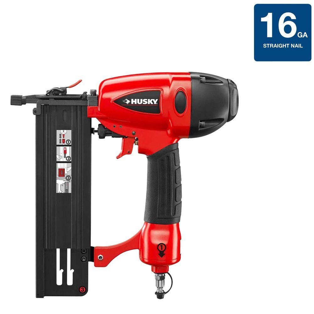 Husky 16-Gauge 2-1/2 in. Finish Nailer-DISCONTINUED