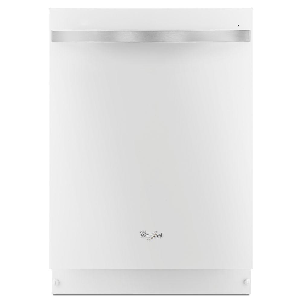 Whirlpool Gold Series Top Control Dishwasher in White Ice with Stainless Steel Tub