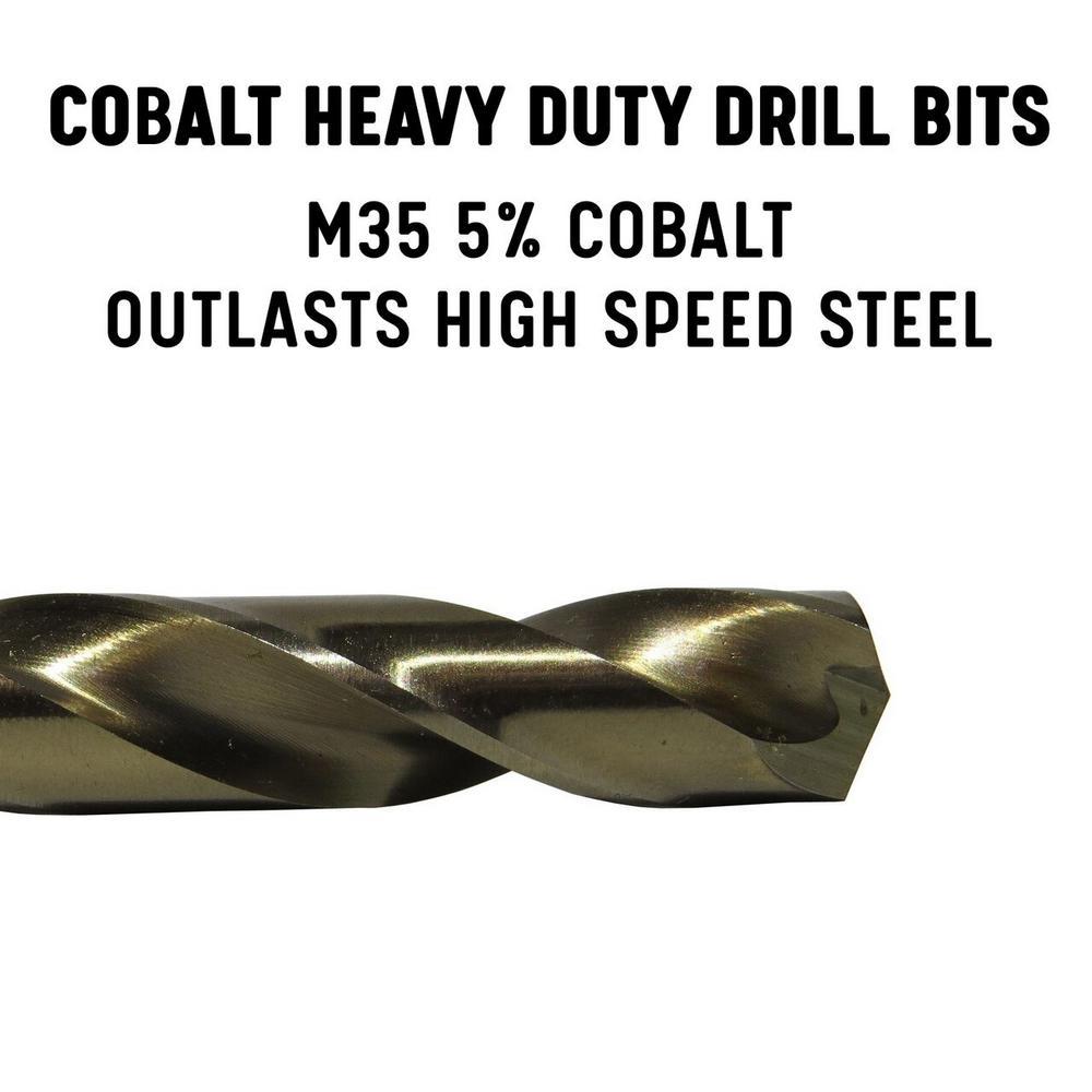 Drill America 11//64 x 12 High Speed Steel Aircraft Extension Drill Bit DWDA//C Series Pack of 12
