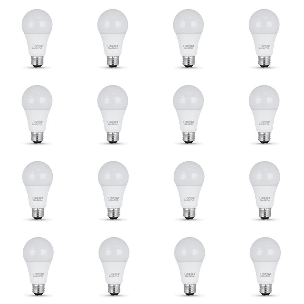 50/100/150-Watt Equivalent Daylight (5000K) A21 CEC Title 20 Compliant LED 3-Way 90+ CRI Light Bulb (12-Pack)
