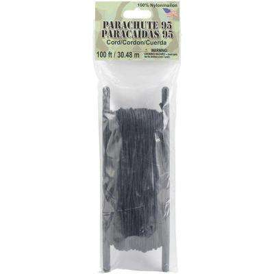 1.9 mm Black Parachute Cord