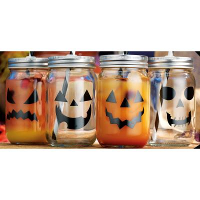 15 fl. oz. Halloween Mason Jars (Set of 4)