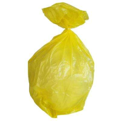 40 Gal. to 45 Gal. 1.5 mil 40 in. H x 46 in. W Yellow Trash Bags (100-Bags per Case, 79-Cases per Pallet)