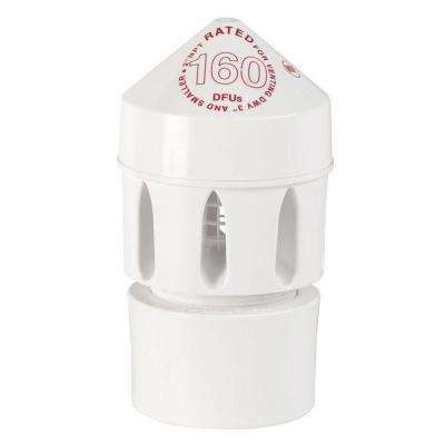 Sure-Vent 2 in. x 3 in. PVC Air Admittance Valve - 160 DFU