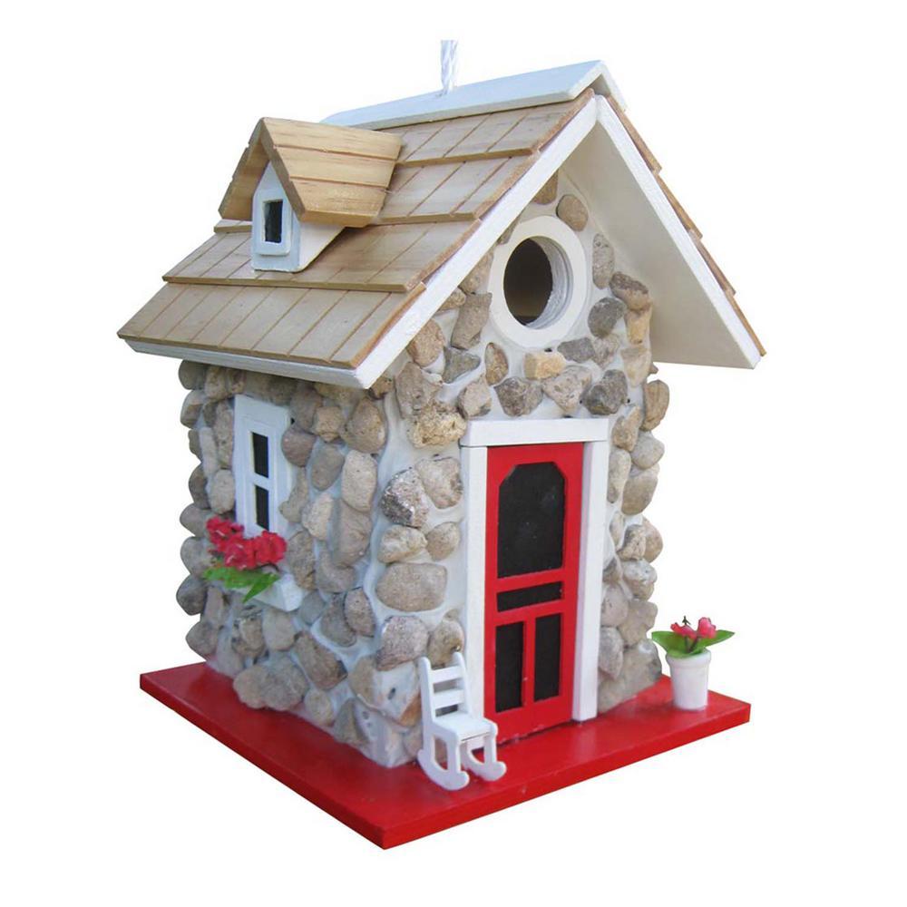 Fieldstone Guest Cottage Birdhouse