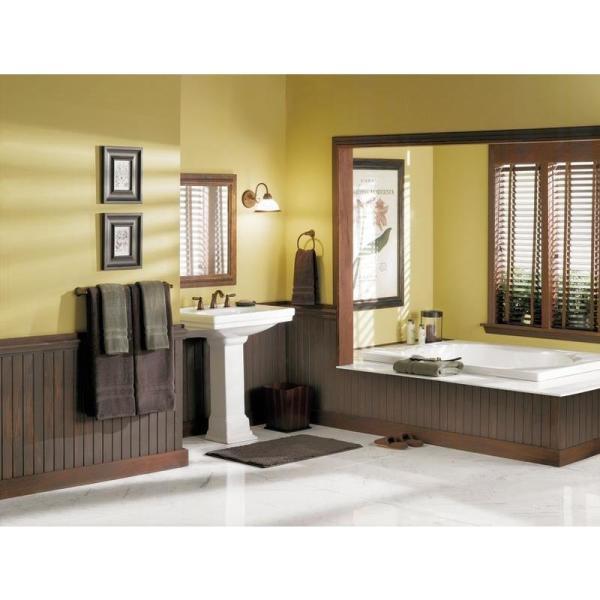 Brantford 24 in. Towel Bar in Oil Rubbed Bronze