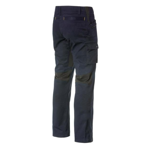 Caterpillar Operator Flex Men S 30 In W X 34 In L Navy Cotton Polyester Spandex Stretch Work Pant 1810038 382 30 34 The Home Depot