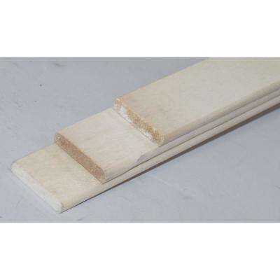 Hardwood Cover Support Bow 6 ft. L, 70 in. Beam