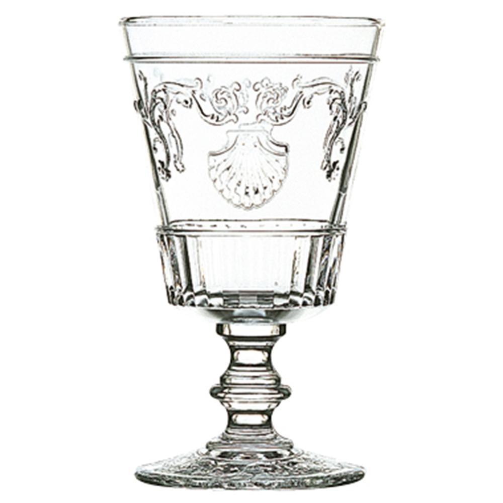 Versailles 13.5 oz. Shell/Flower Design Water Glass (Set of 6)