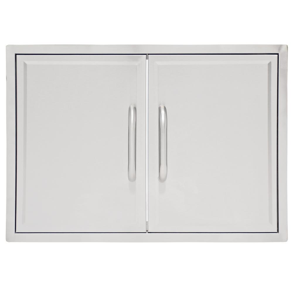 3 Embers Drop-In Grill Cabinet Double Access Door