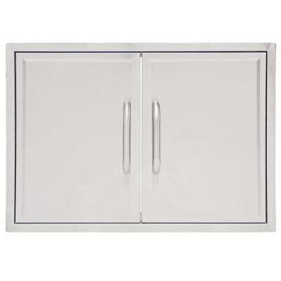 Drop-In Grill Cabinet Double Access Door