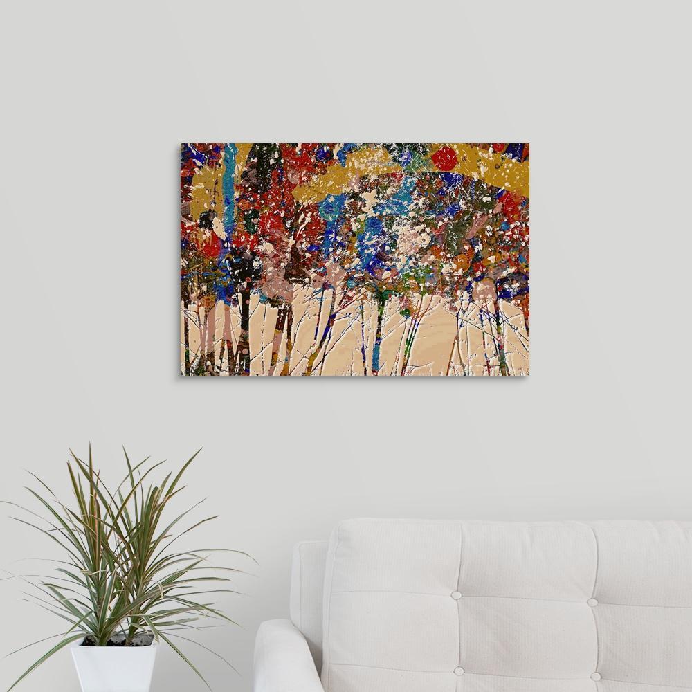 Greatcanvas Four Seasons Fall By Ursula Abresch Canvas Wall Art