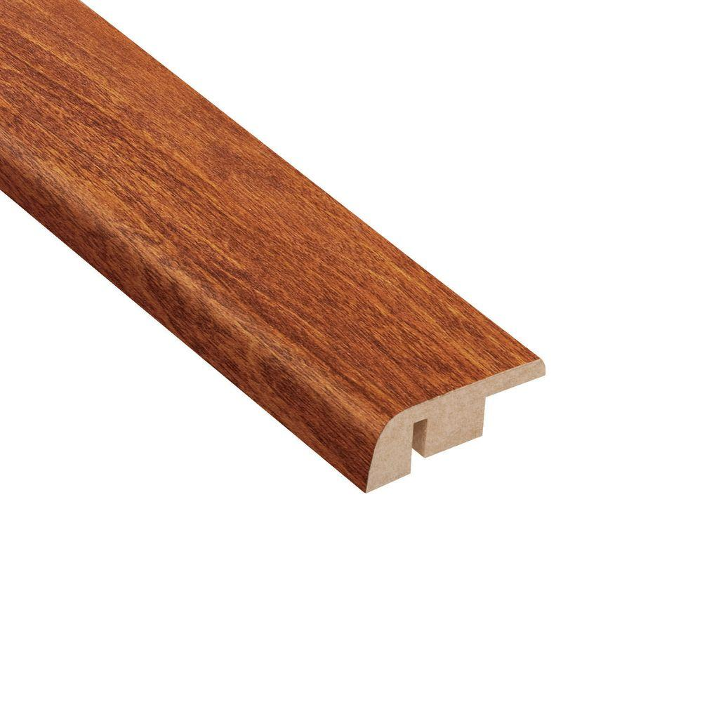 Hampton Bay La Mesa Maple 7/16 in. Thick x 1-5/16 in. Wide x 94 in. Length Laminate Carpet Reducer Molding