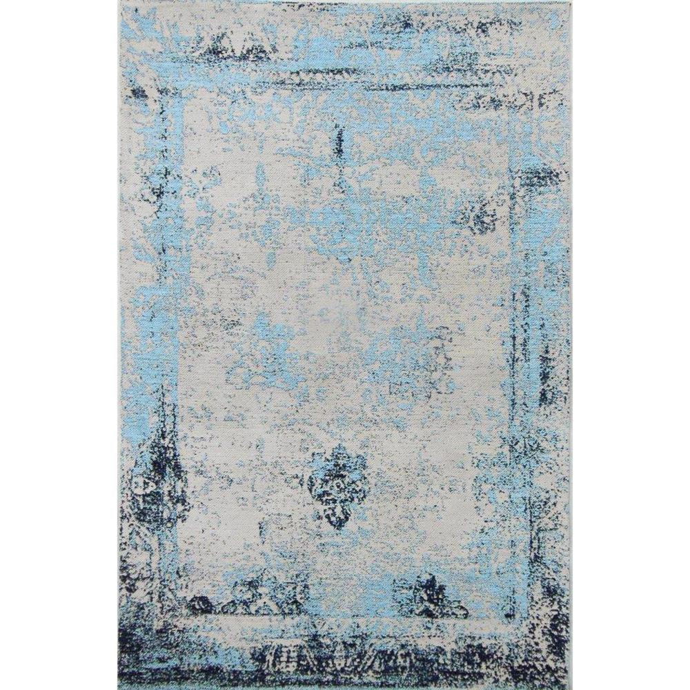 Charming Hand Woven Vintage Style Area Rug