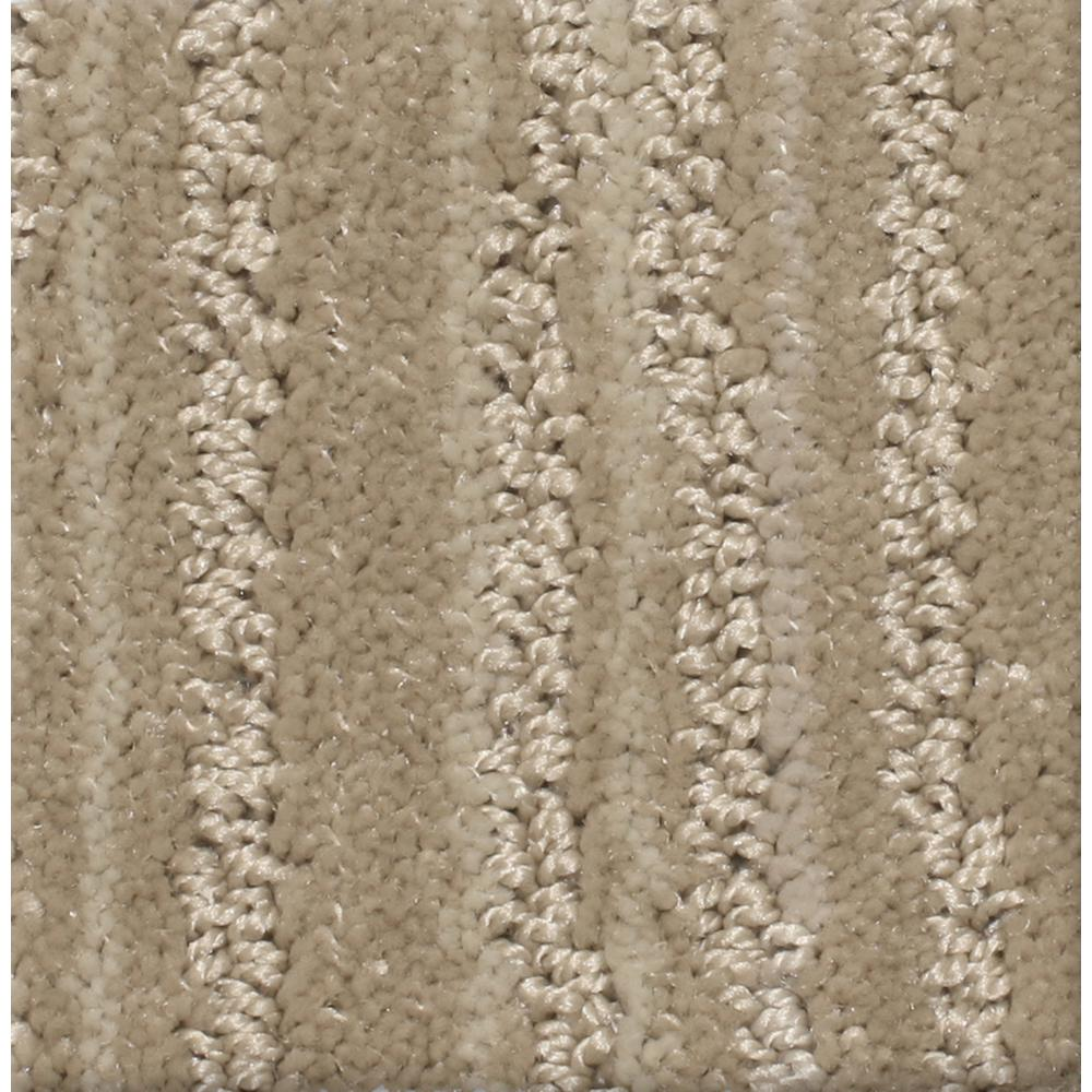 Carpet Sample - Jump Line II - Color Pace Pattern 8