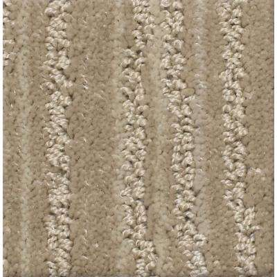 Carpet sample jump line ii color pace pattern 8 in x 8 in