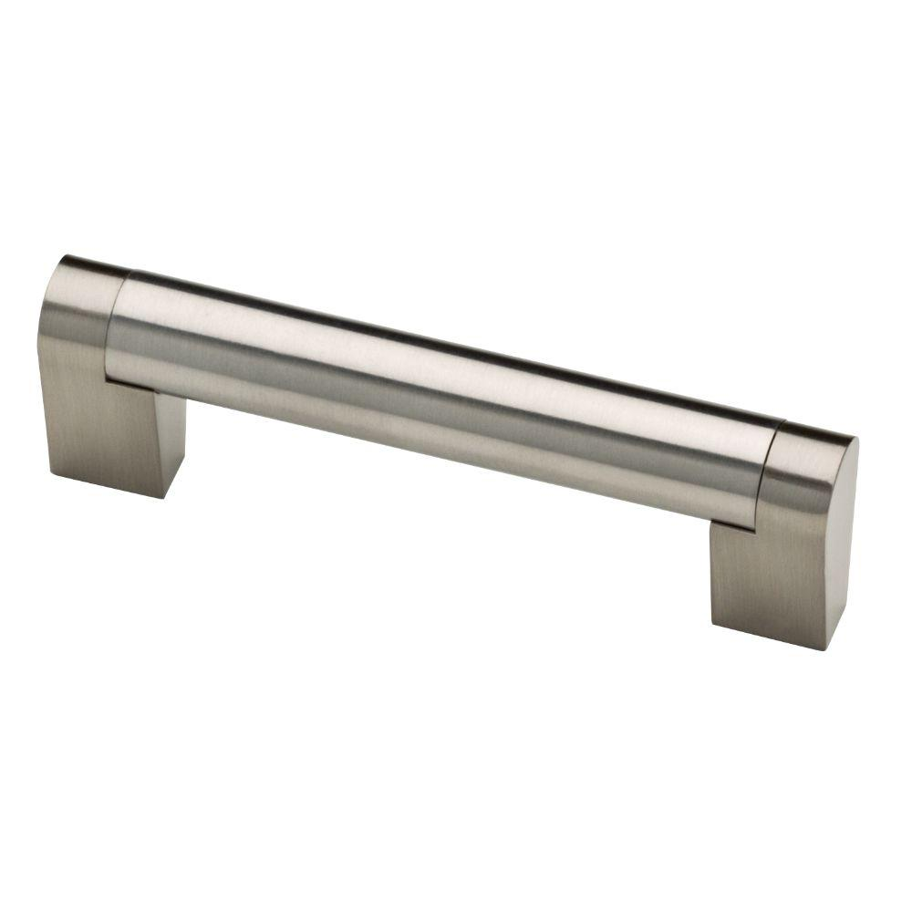 Liberty Stratford 3-3/4 in. (96 mm) Center-to-Center Stainless Steel Bar Drawer Pull